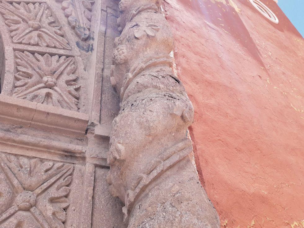 Deterioro del templo Jerusalén es evidente