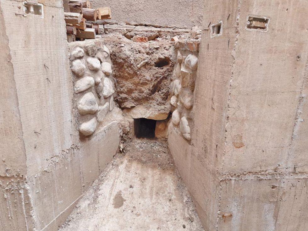 Reportan hallazgos en el subsuelo de la calle Junín