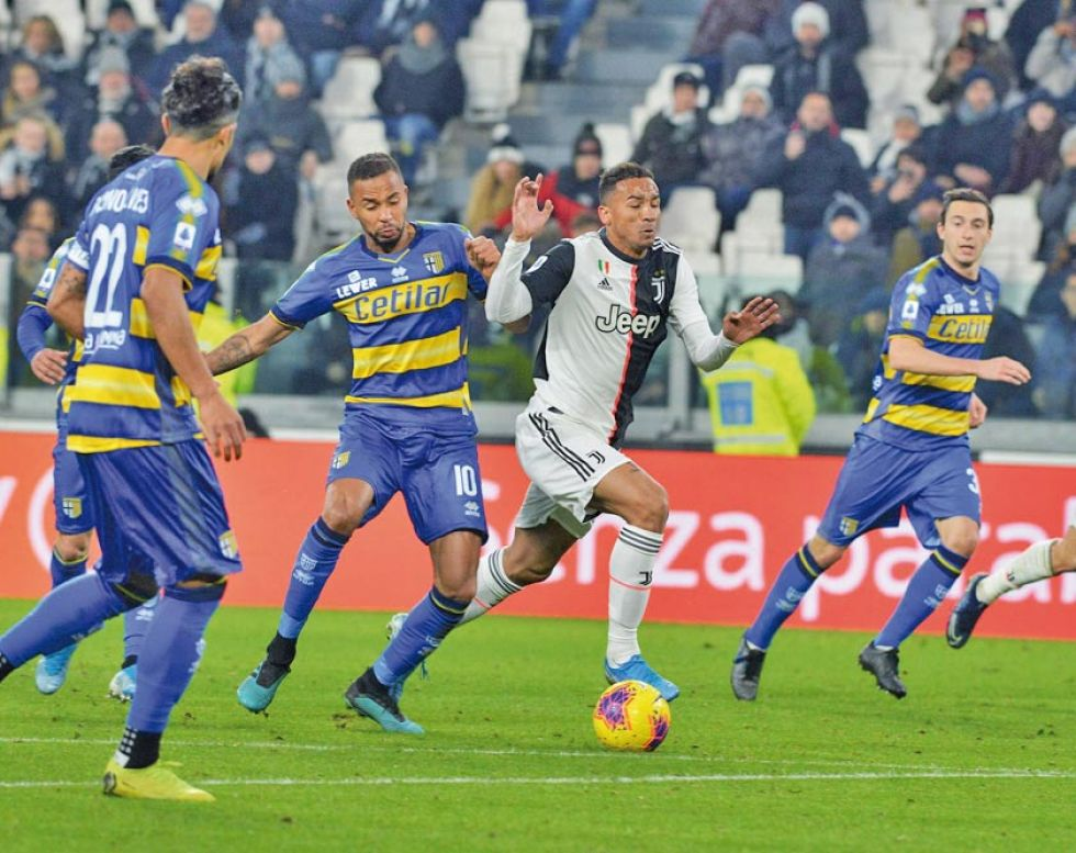 """El partido se jugó en el """"Allianz Stadium""""."""