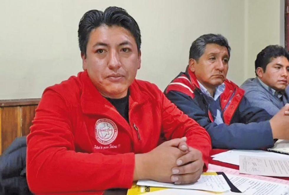 Agradeció el apoyo incondicional durante toda su gestión como presidente del ente cívico.