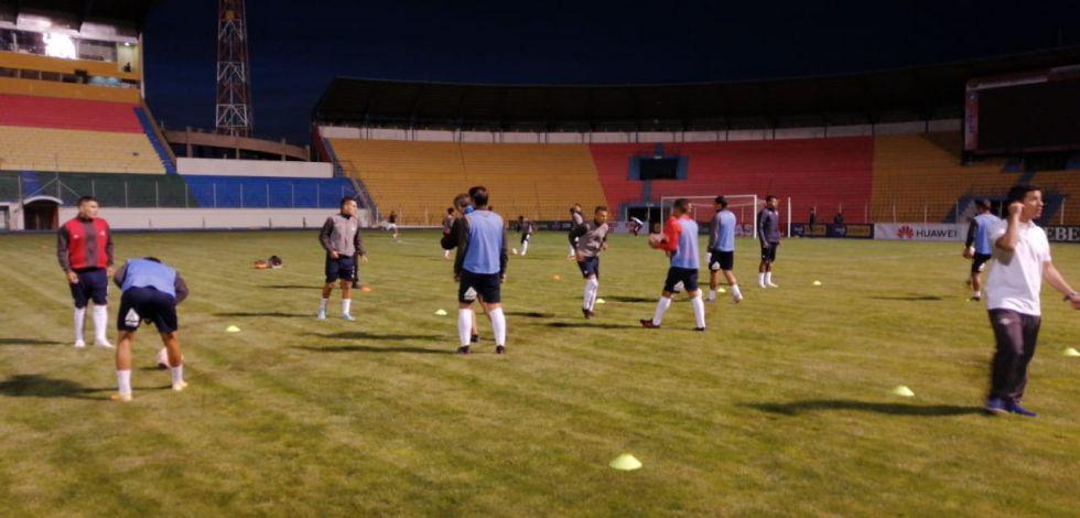 El partido se jugó en Potosí