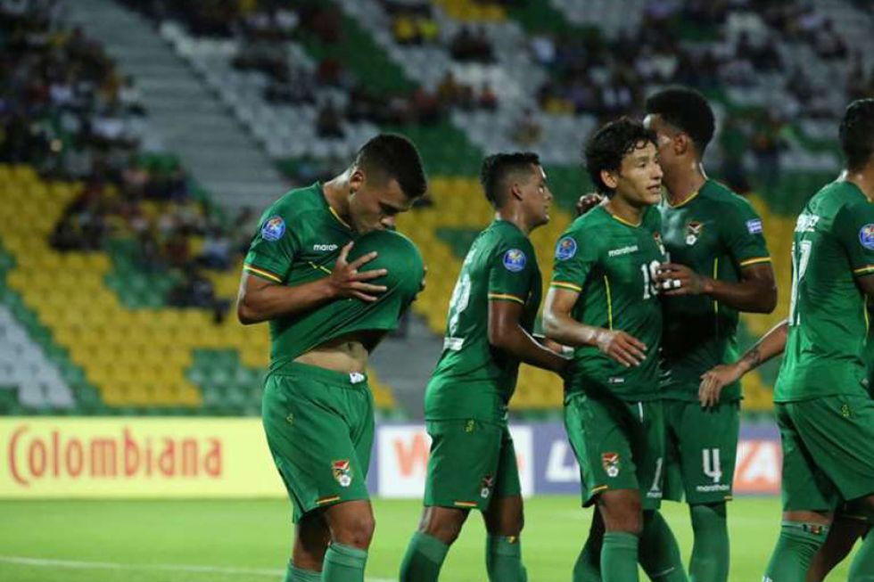 Bolivia vence a Uruguay en el Preolímpico sudamericano