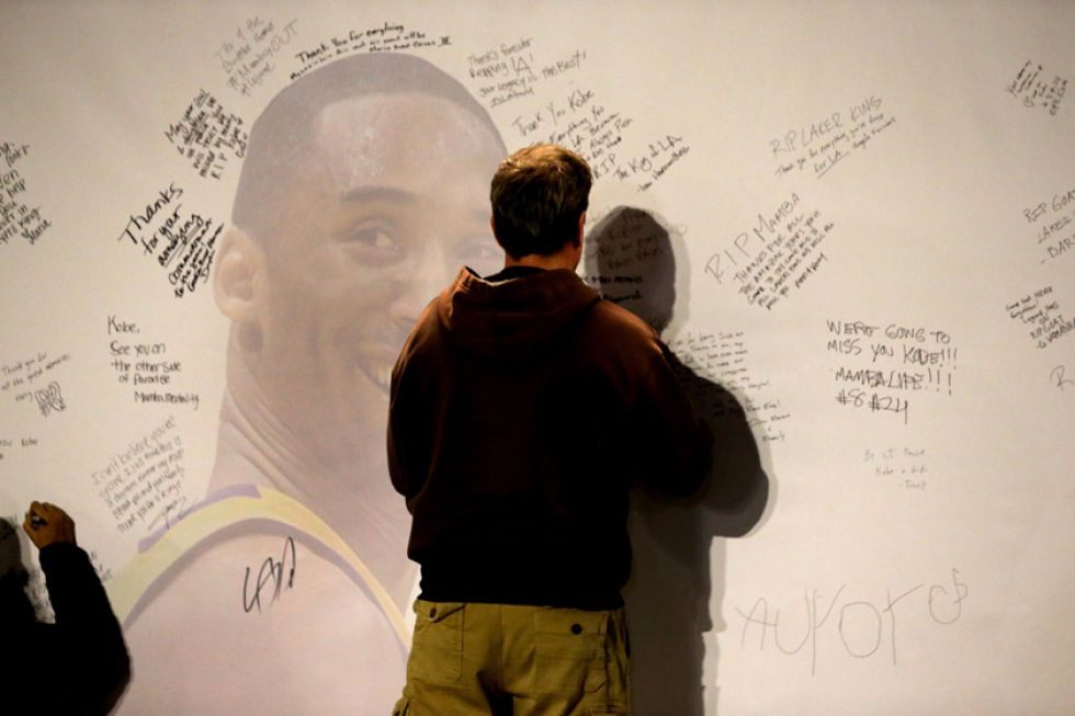 Muerte de Kobe Bryant enluta al deporte mundial