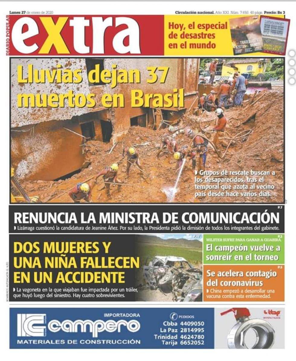 Extra, La Paz