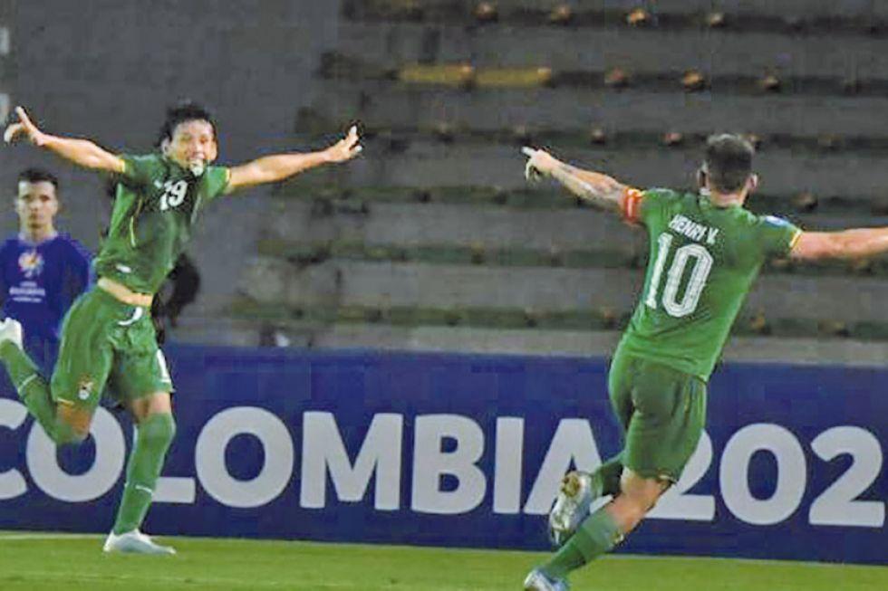 La selección boliviana busca dar el batacazo ante Brasil