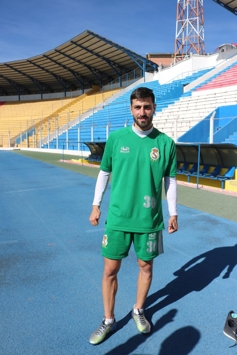 El jugador español del equipo lila podría debutar hoy