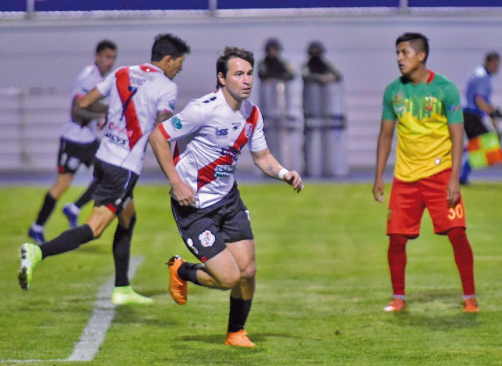 Nacional Potosí dio vuelta el marcador anoche