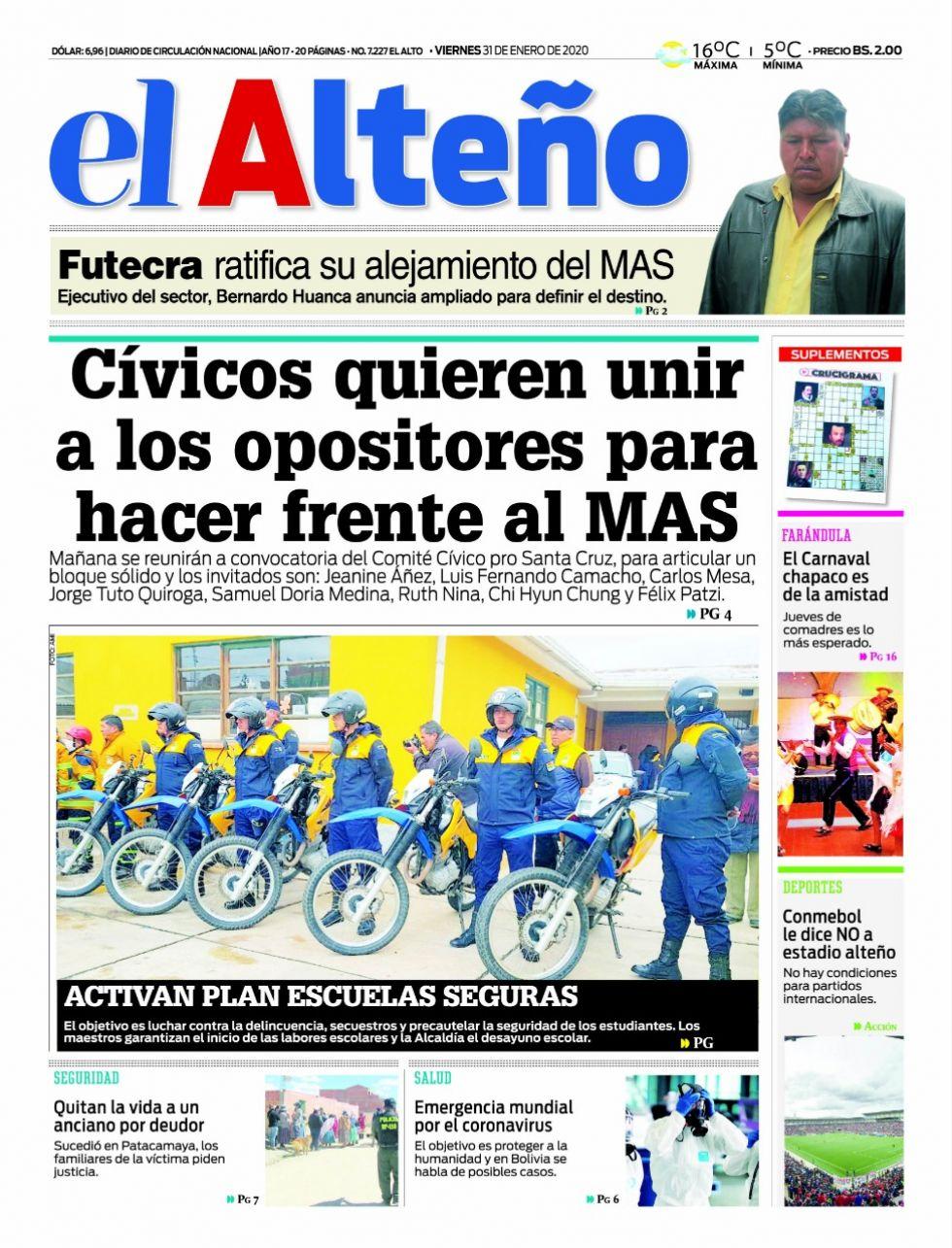 El Alteño, El Alto.
