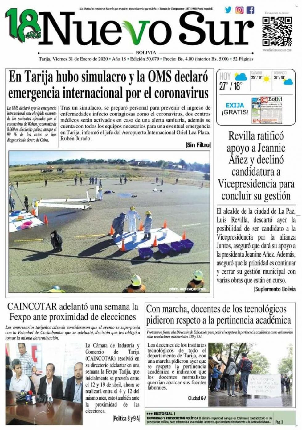 Nuevo Sur, Tarija.
