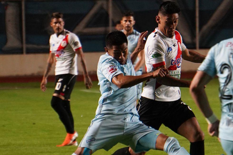 Bolívar sube a la cima del Apertura con una goleada a Nacional
