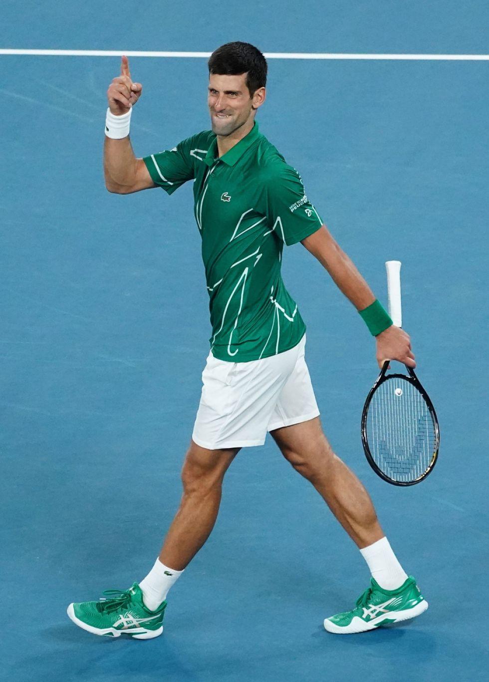 El jugador Novak Djokovic.