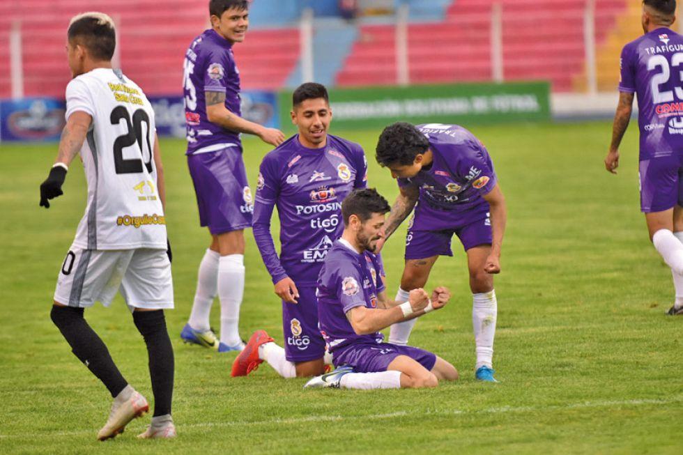Real Potosí suma sus primeros puntos en su casa