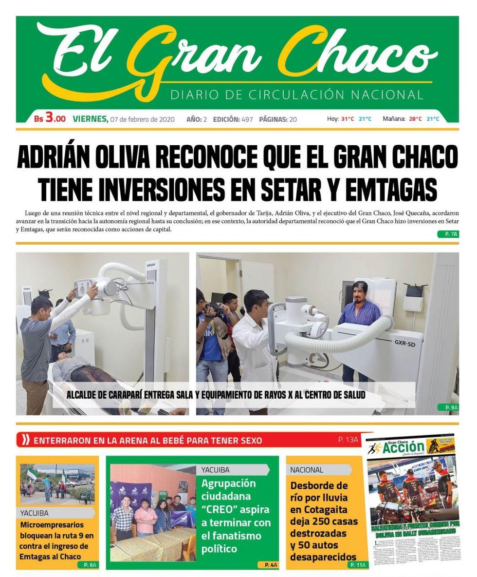 El Gran Chaco, Tarija.