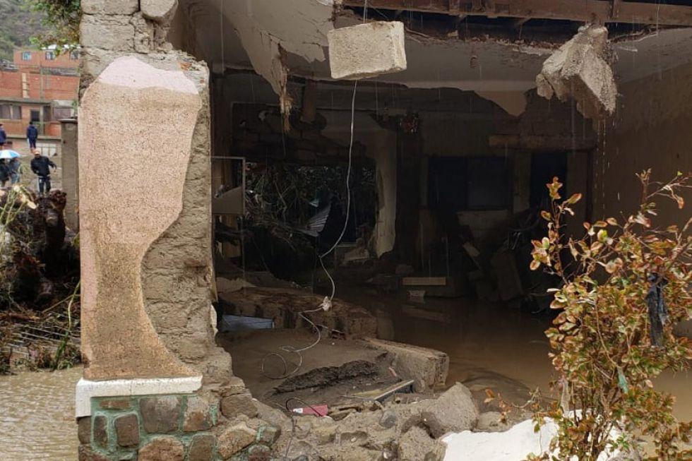 La Aevivienda reconstruirá 20 casas afectadas en Cotagaita