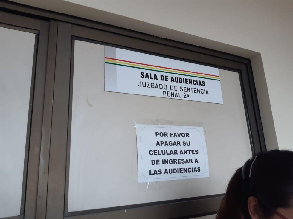 El proceso se desarrolla en la ciudad de Potosí.
