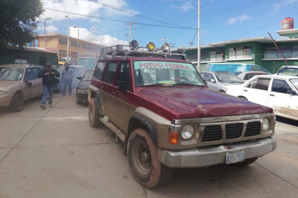 Retuvieron el vehículo de Comcipo en zona de lenocinios