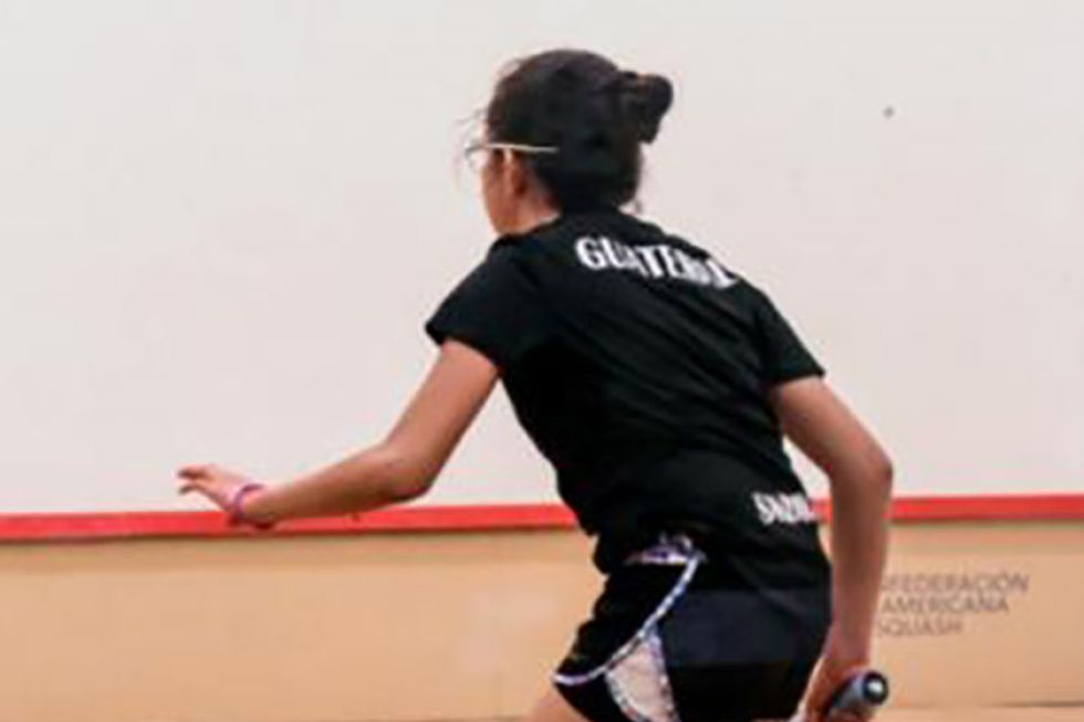 Potosinos juegan Sudamericano de squash por Bolivia