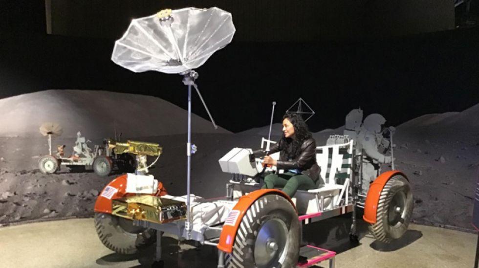 La divulgadora científica boliviana Paola Daniela Ochoa.