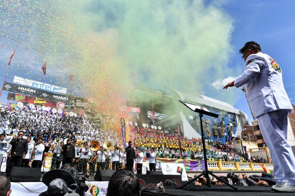 Es una de las actividades más esperadas del carnaval orureño.