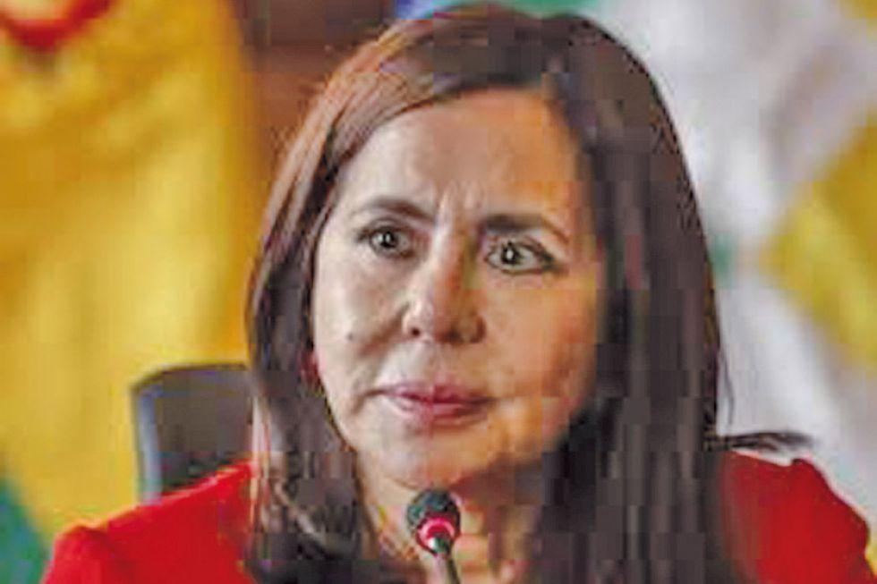 Bancada del MAS pide interpelación contra la canciller por el Silala