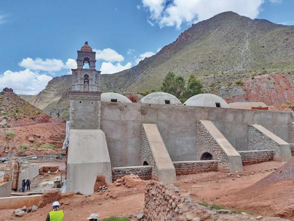 Critican obras en templo de Yocalla