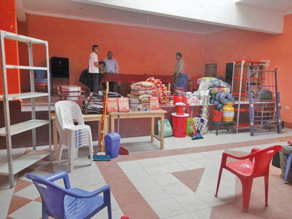 Entregan ayuda y enseres para la distrital de Cotagaita