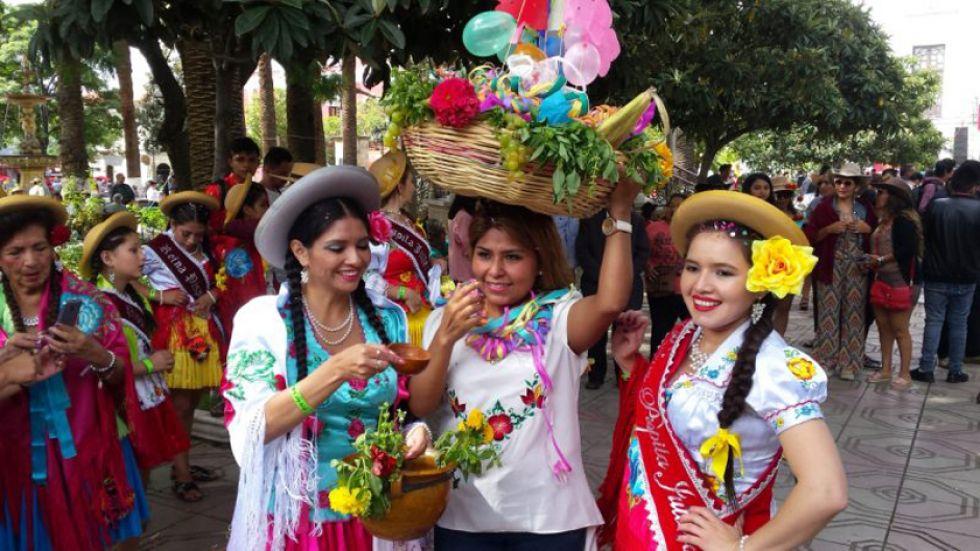 Es una fiesta tradicional de la capital chapaca. Foto La voz de Tarija.