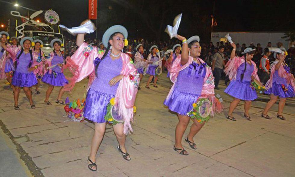 Las comadres festejaron ayer. Foto: El País - Tarija