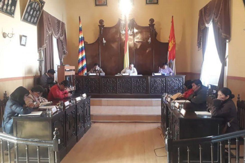Concejales no renunciaron a sus sueldos del mes de enero