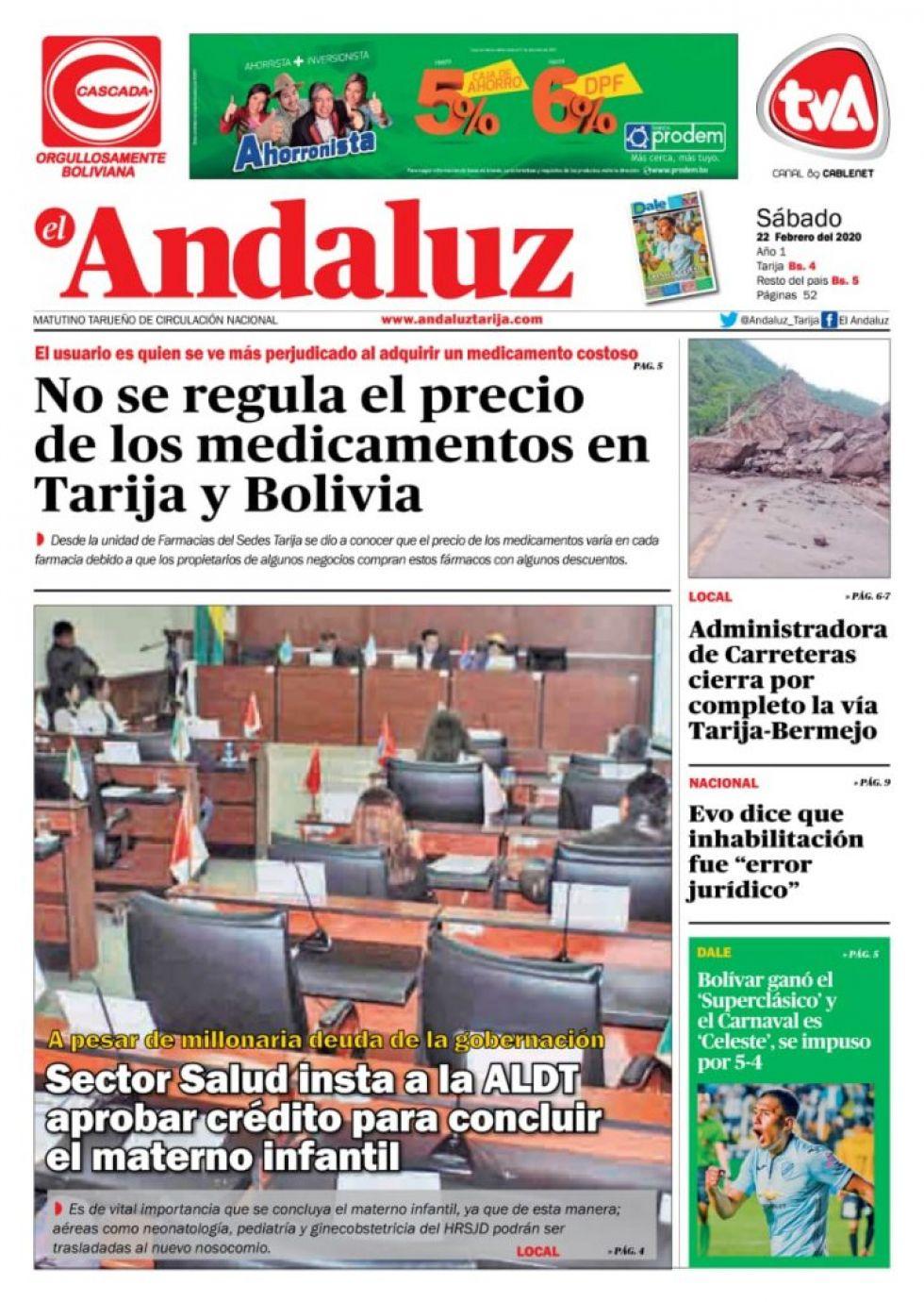 El Andaluz, Tarija.