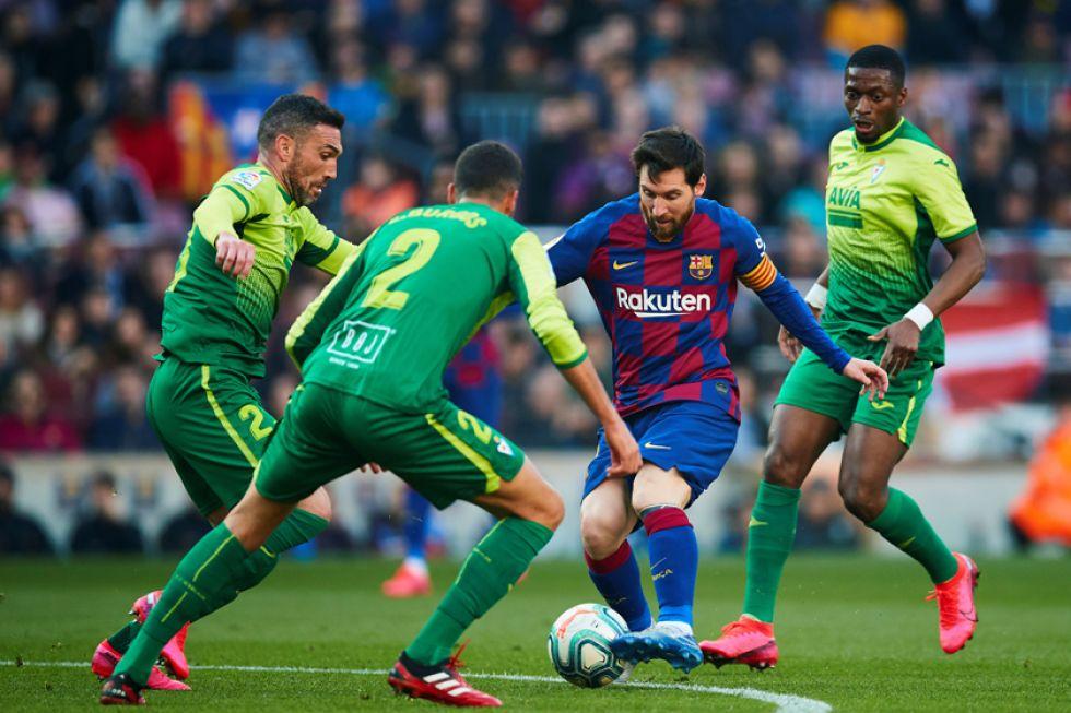 """Barcelona golea sin piedad a Eibar en el """"Camp Nou"""""""