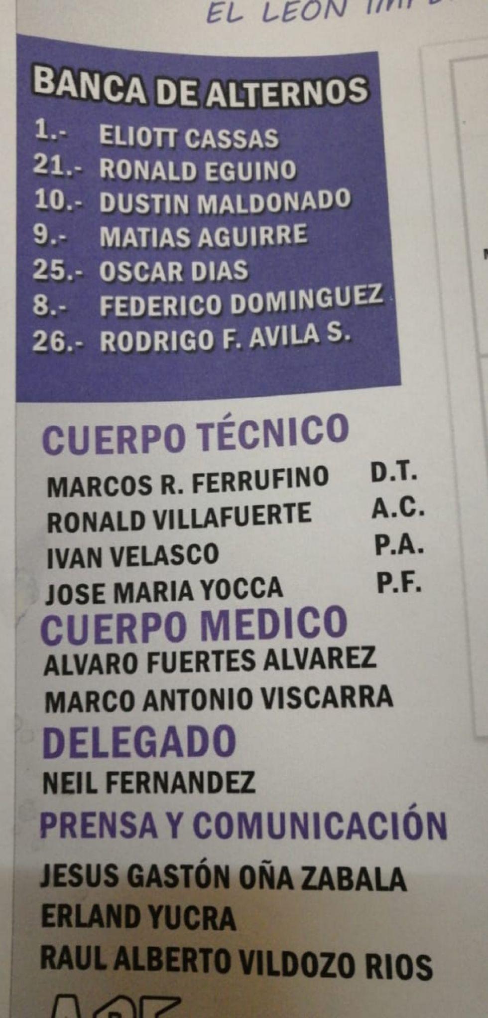El partido se juega en el Víctor Agustín Ugarte.