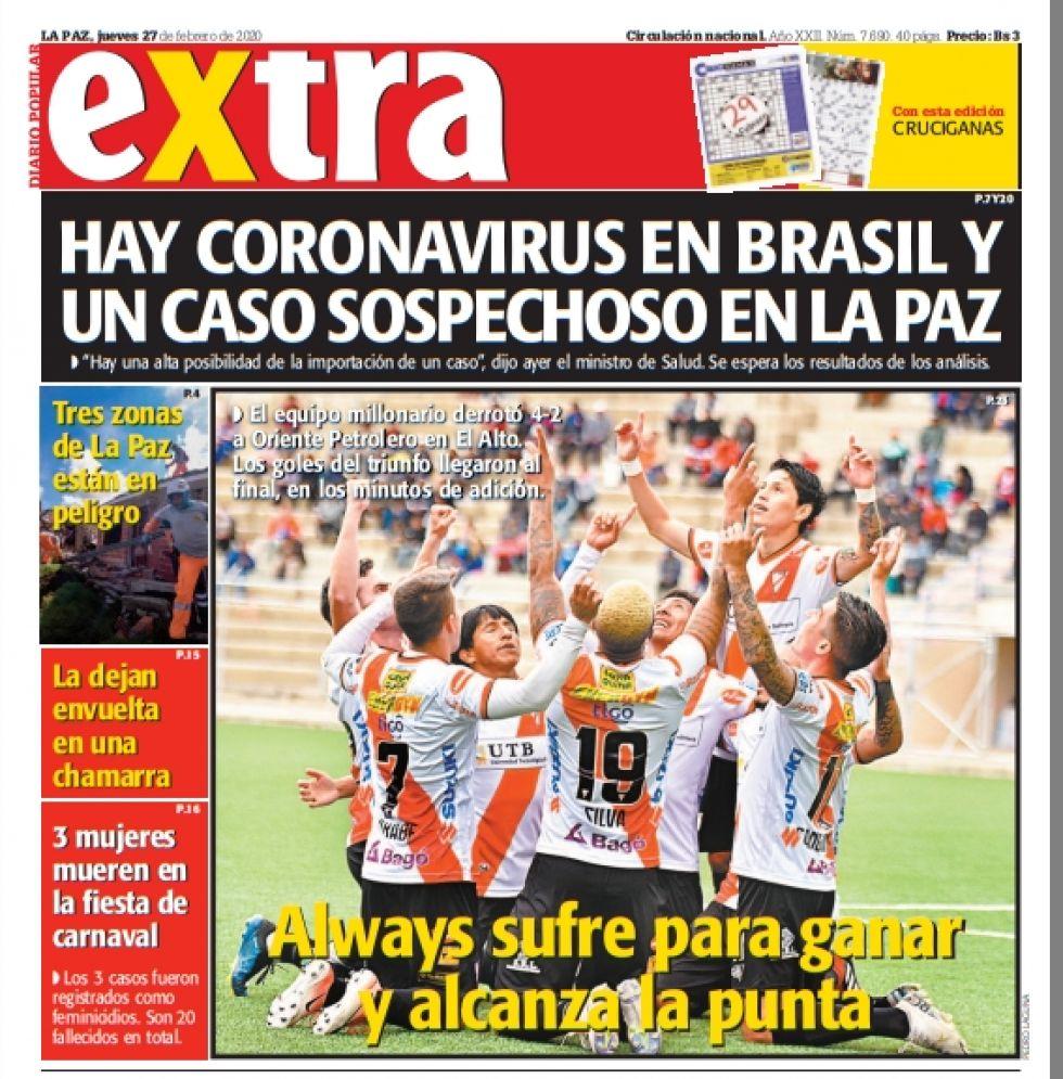 Extra, La Paz.