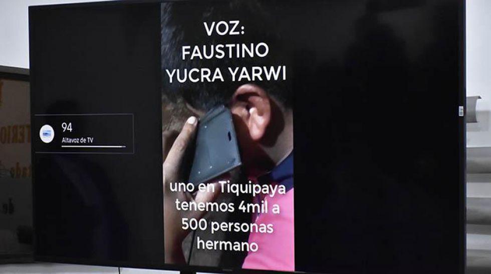 Fiscal dará a conocer el informe sobre el audio de Morales y Yucra