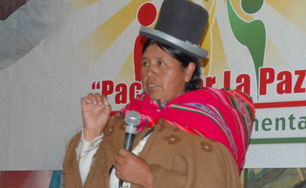 Piden aprehender a Huanca para que no salga del país
