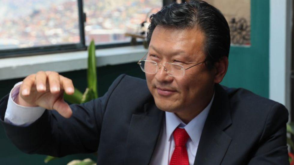 Chi Hyun Chung es el candiato presidencial del Frente Para la Victoria (FPV).