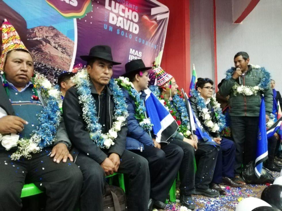 MAS presenta a Diego Pary como candidato a primer senador por Potosí