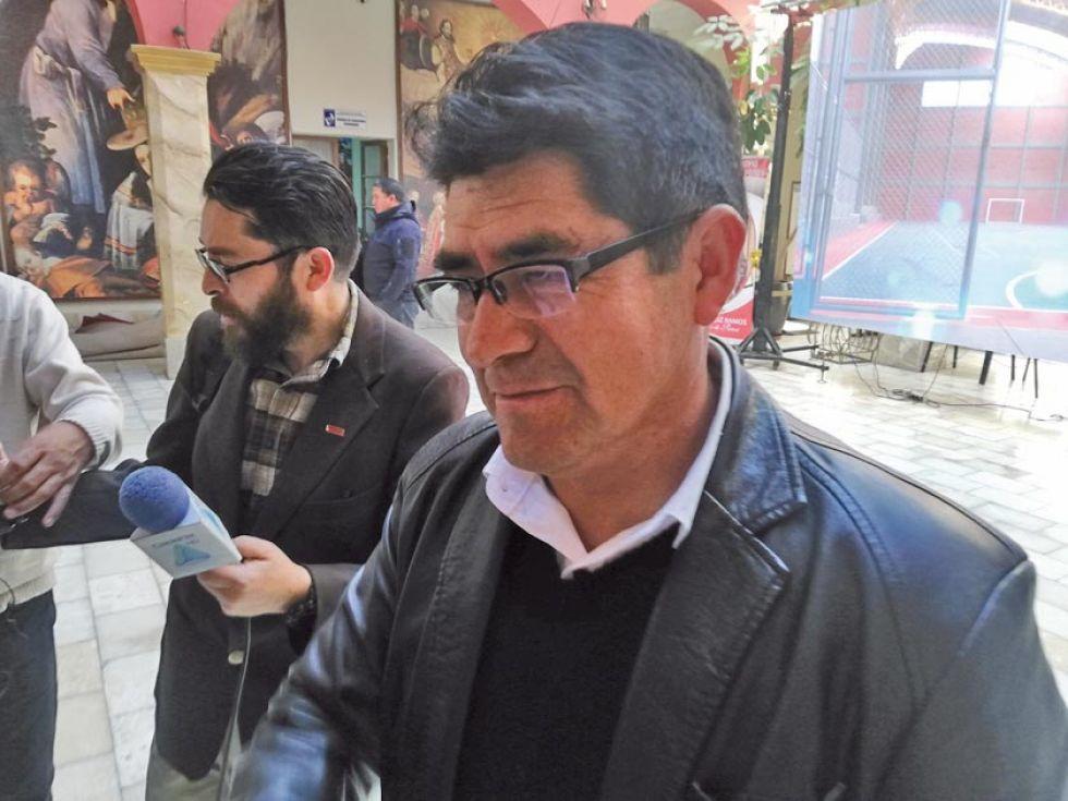 Omar Veliz, gobernador del Departamento de Potosí.