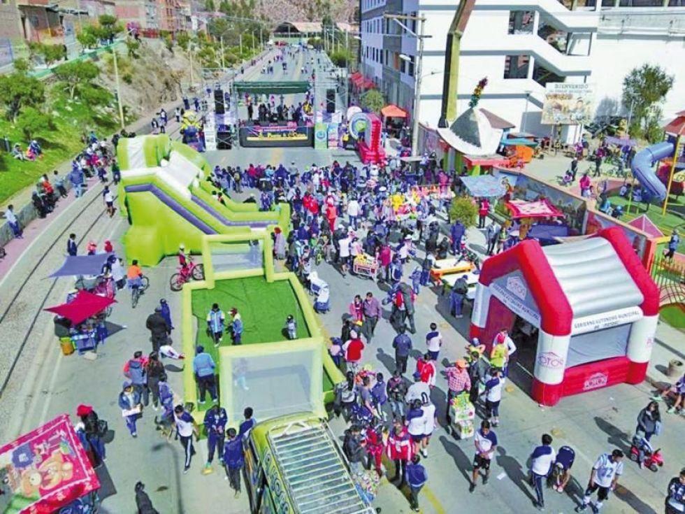 Suspenden el próximo Día del Peatón en Potosí