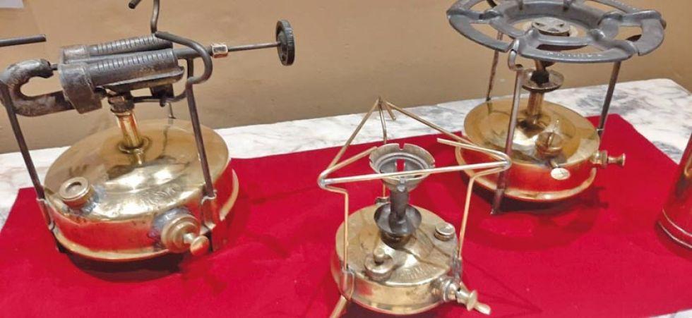 Anafes que eran usados en las cocinas para preparar alimentos.