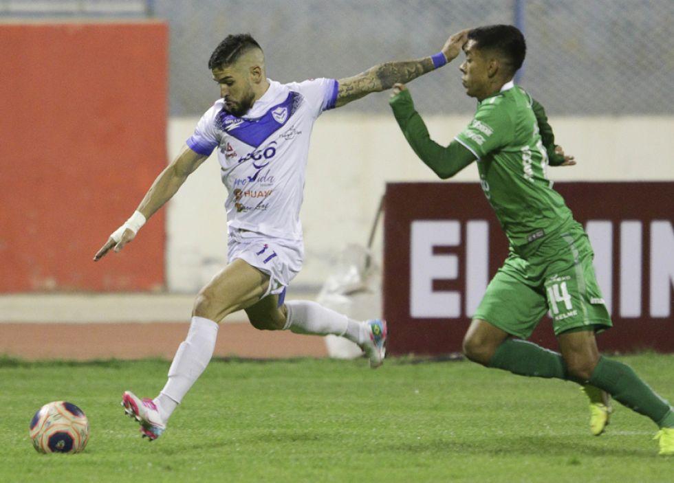 """El partido se jugó en el estadio """"Jesús Bermúdez""""."""