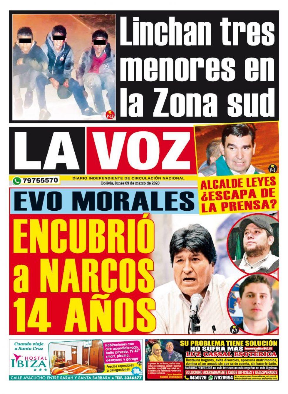 La Voz, Cochabamba.