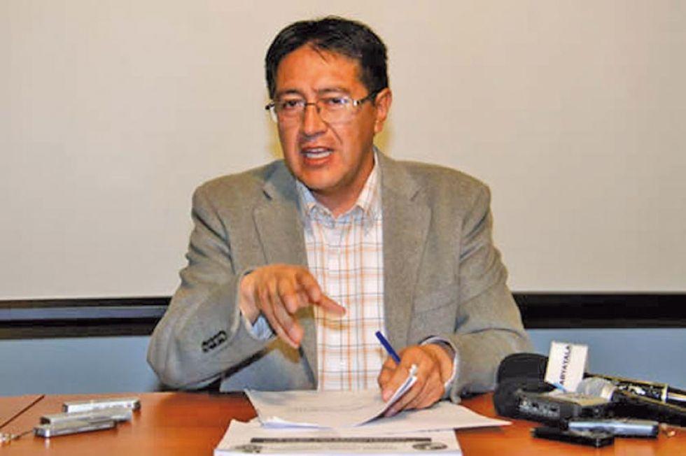 El diputado Gonzalo Barrientos .