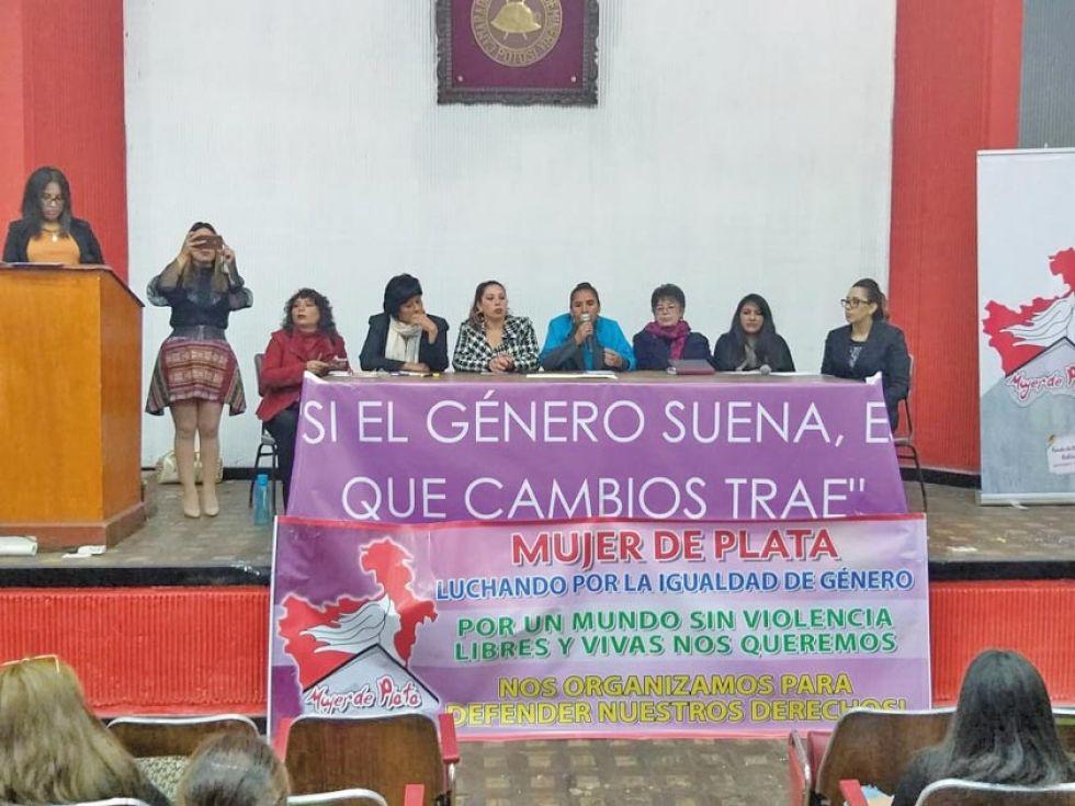 El foro sobre la participación política de las mujeres.