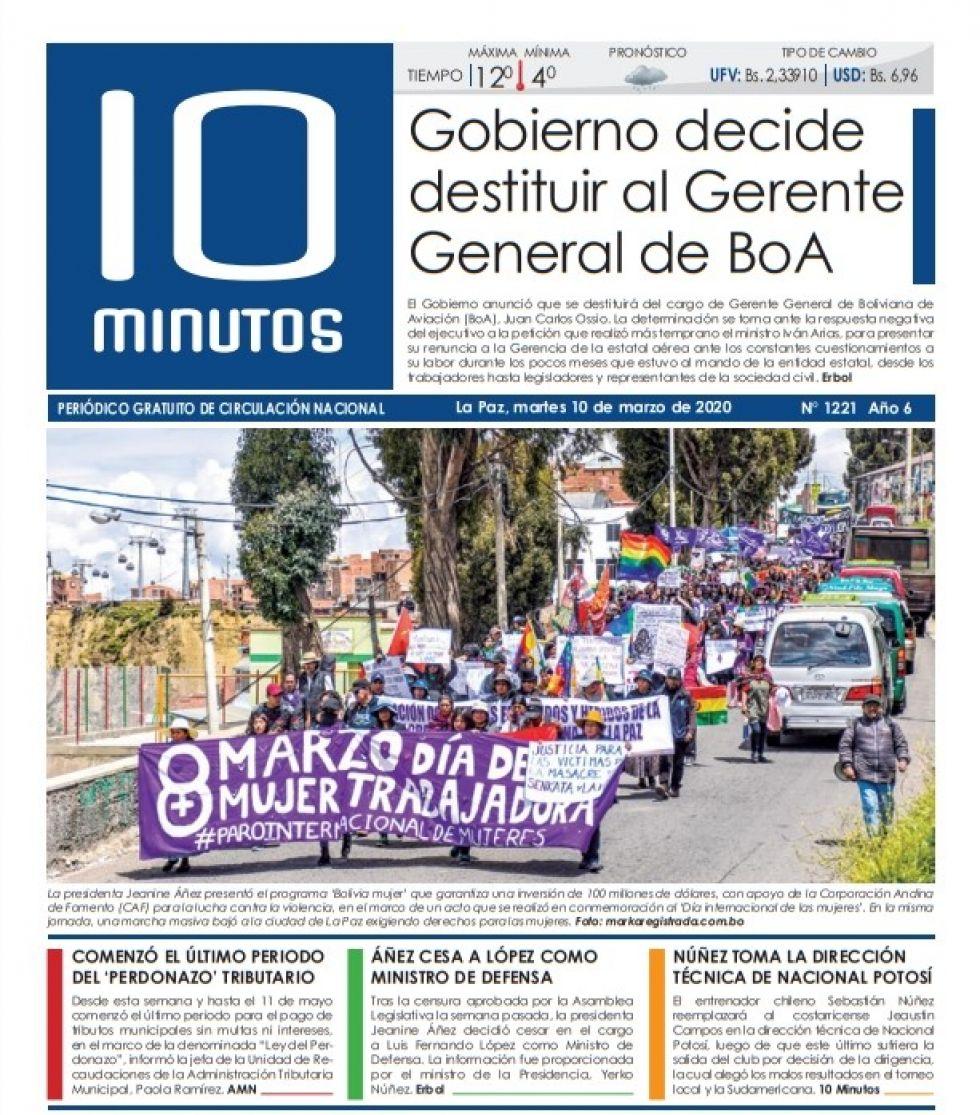 10 Minutos, La Paz.
