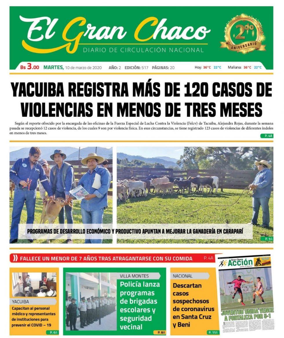 El Gran Chaco, Yacuiba, Tarija.