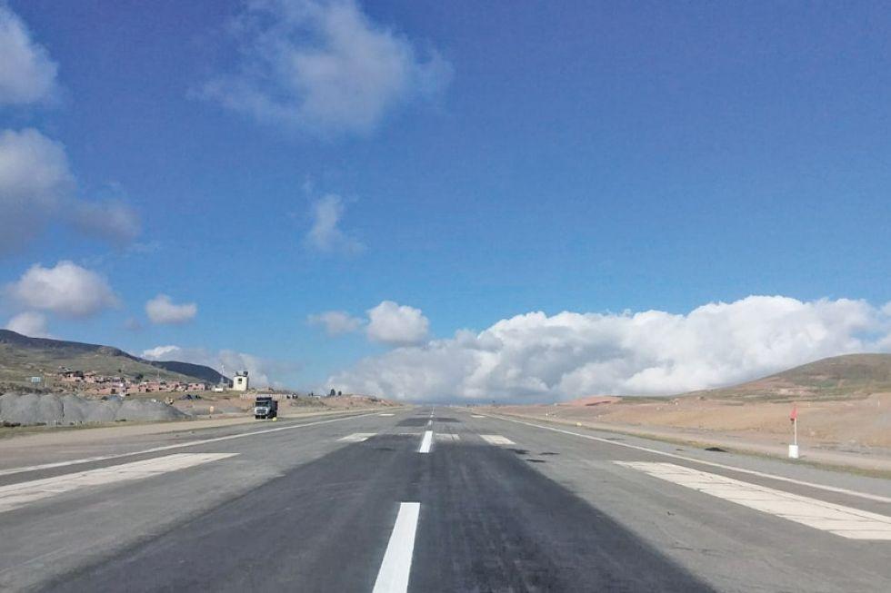 Las obras en la pista de aterrizaje están concluidas