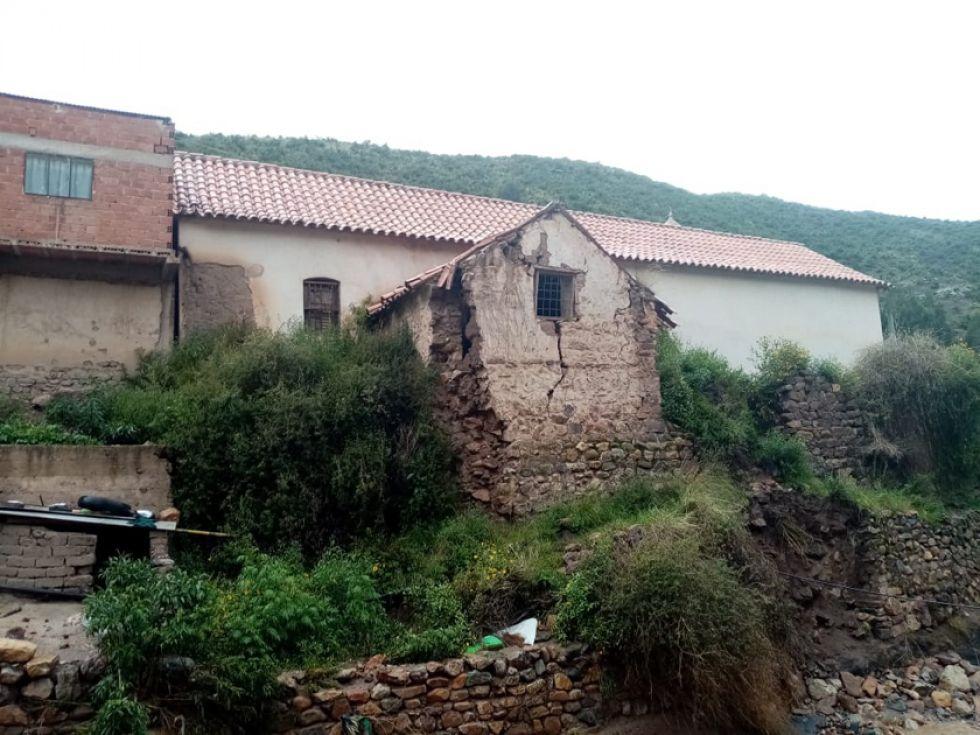 La estructura se encuentra en el área rural.