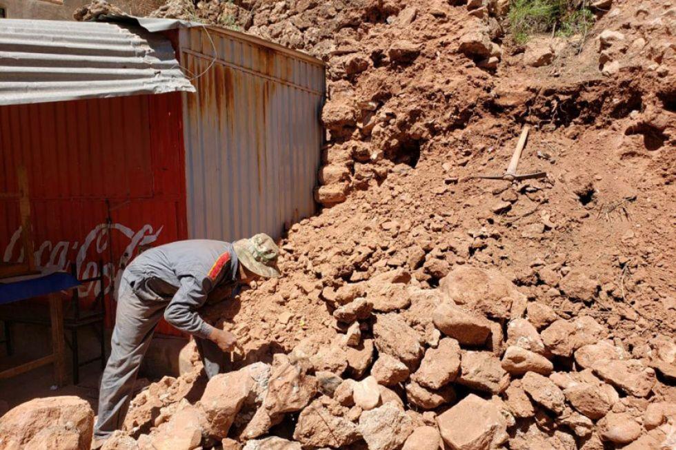Comunarios destruyeron un bien patrimonial en Miraflores