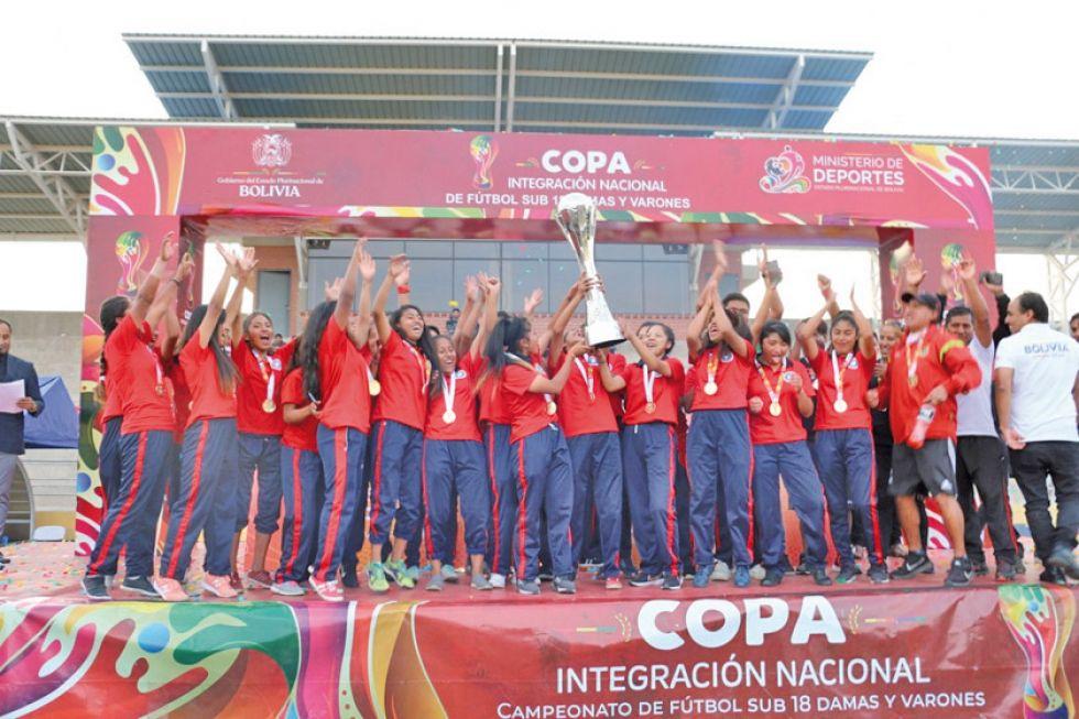 Potosinas dan ejemplo y son campeonas nacionales